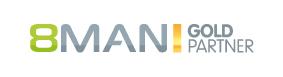 8MAN GoldPartner-Logo